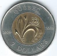 Canada - Elizabeth II - 2008 - 2 Dollars - Quebec City 400th Anniversary - KM1040 - Canada