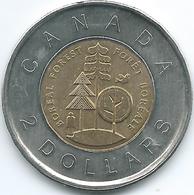 Canada - Elizabeth II - 2011 - 2 Dollars - Parks Canada Centenary - Boreal Forest - KM1167 - Canada