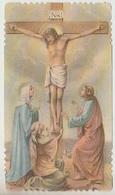 SANTINO  - IMAGE PIEUSE - DEVOTIONAL IMAGES   GESU' CROCIFISSO (ACQUISTO MINIMO 4 SANTINI) - Imágenes Religiosas