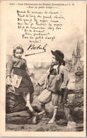 """22 BOTREL ILLUSTREES - Chanson """"par Le Petit Doigt""""-- - France"""