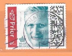 Roi Philippe Nouveau Timbre Prior - Belgique