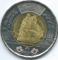 Canada - Elizabeth II - 2012 - 2 Dollars - War Of 1812 - HMS Shannon - KM1258 - Canada