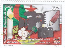 Algeria Matyrs Media Day 1v.complete Set MNH-  SKRILL PAYMENT ONLY - Algeria (1962-...)