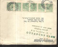 Brésil Lettre De Janvier 1951  Vers New - York ( USA ) - Brésil
