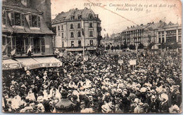 90 BELFORT - Concours Musical Du 15 Et 16 Avril 1908 Pendant Le Défilé - Belfort - Ville