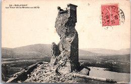 90 BELFORT - La Tour De La Miotte En 1870 - Belfort - Ville
