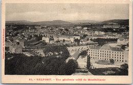 90 BELFORT - Vue Générale Côté De Montbéliard - Belfort - Ville