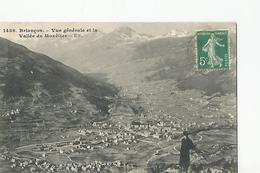 05 Briançon Vue Generale Et Vallée De Monetier - Briancon
