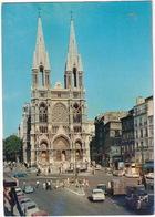 Marseille: FORD TAUNUS 12M P4, PEUGEOT 404U,403, CITROËN 2CV,TUBE HY,AMI 6, SIMCA ARONDE, SKODA - L'Église Des Réformés - Toerisme