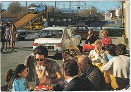 Chemins De Fer Francais: RENAULT 16, AUSTIN MINI, PEUGEOT 404 - TRAIN AUTOS COUCHETTES - (Marseille,1985) - Toerisme