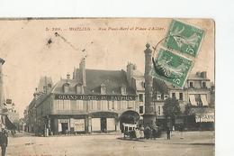 03 Moulins Rue Paul Bert Et Pierre D Allier Carte état Moyen - Moulins