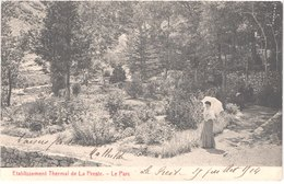 FR66 PRATS DE MOLLO - LA PRESTE - établissement Thermal - Le Parc - Animée - Belle - Autres Communes