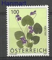 Austria 2007 Mi 2652 MNH ( ZE1 AST2652dav14E ) - Végétaux