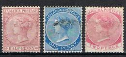 COLONIE ANGLAISE-JAMAIQUE YT 7-8-9 - Jamaica (...-1961)