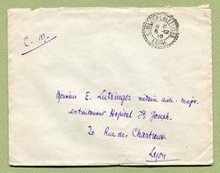 SAINT-MARCEL-DE-FELINES  (42) : Facteur Boitier N° 2618 En Franchise 1918 - Postmark Collection (Covers)