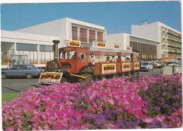 Saint-Jean-de-Monts: PEUGEOT 604, TOURIST TRAIN, 2x RENAULT 4 - Le Petit Train Et L'Esplanade - (85) - Toerisme