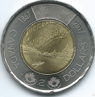 Canada - Elizabeth II - 2017 - 2 Dollars - Canada 150 - Dance Of The Spirits - Canada