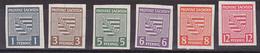 Provinz Sachsen Gemany SBZ 66/71 Postfrisch  Unused Wappen Geschnitten - Sovjetzone