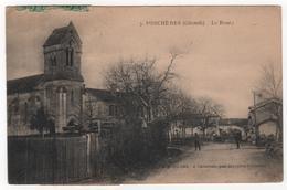 CPA 33 : 3 - PORCHERES (Gironde) - Le Bourg - Ed. Isard à Cadarsac - 1925 - France