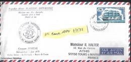 Paquebot Mixte Marion Dufresne  Campagne Nosicaa   Sédimentologie   Juin 1975 - Programmes Scientifiques