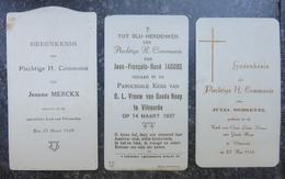 VILVOORDE - VILVORDE - Image Pieuse - Communion - Communie - O.L. Vrouw Van Goede Hoog - KERK - Communion