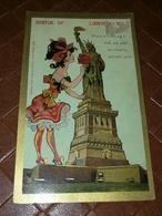 CPA USA - NY - NEW-YORK - Statue Of LIBERTY Cha. ROSE 1908 - Etats-Unis