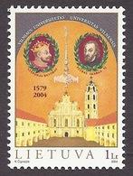 Lithuania / Lietuva 2004 Vilnius University - 425th Anniversary, Historical Buildings MNH - Lituanie