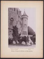 Fotografie Wilh. Dreesen, Ansicht Meiningen, Freitreppe Und Söllerthurm Auf Schloss Landsberg - Orte