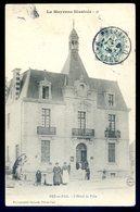 Cpa Du 53  Pré En Pail L' Hôtel De Ville   ACH3 - Pre En Pail