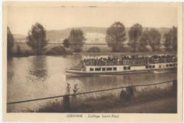 Godinne - Collège Saint-Paul - Photo W. Kessels - Heliogravure Ch. Bulens - Yvoir