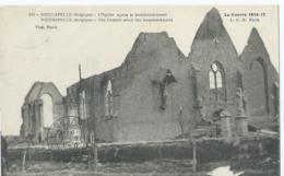 Nieucapelle - 510 - L'Eglise Après Le Bombardement - La Guerre 1914-17 - 1919 - Diksmuide