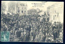 Cpa Du 53  Pré En Pail Marché Aux Chevaux   ACH3 - Pre En Pail
