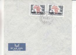 Katanga - Lettre De 1960 ° - Oblit Elisabethville - - Katanga