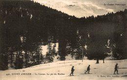 SPORT D'HIVER LE LIORAN LE PIC DU ROCHER - France
