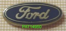 FORD LOGO En Version ZAMAC ECRITURE Métallisée - Ford