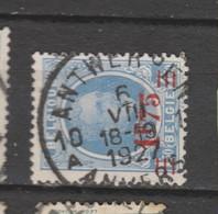 COB 248 Oblitération Centrale ANTWERPEN 10 Dispersion D'un Ensemble Houyoux Oblitération Concours - 1922-1927 Houyoux