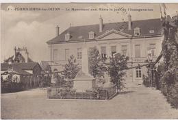 CÔTE D'OR - 5 - PLOMBIERES Les DIJON - Le MOnument Aux Morts Le Jour De L'Inauguration - France