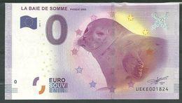 Billet Touristique 0 Euro 2017-1  La Baie De Somme   Phoque - EURO