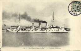 """""""Le Chasseloup Laubat """" Croiseur Cuirassé RV - Guerre"""