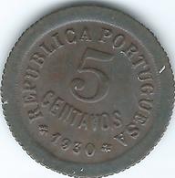 Cape Verde - Portuguese - 1930 - 5 Centavos - KM1 - Cap Vert