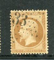 Rare N° 21 Cachet Etoile 33 - 1862 Napoléon III.