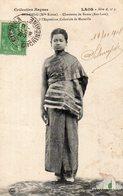 Laos,Cpa Sao Deng (Mlle Rouge),Chanteuse De Bassac (Bas-Laos) à L'Exposition Coloniale De Marseille - Laos