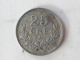 25 Öre Suède (Sweden) 1916 - Suède