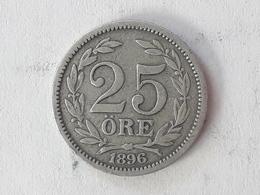 25 Öre Suède (Sweden) 1896 - Suède