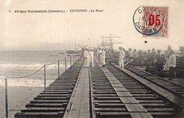 Afrique Occidentale,Dahomey,Cpa Cotonou,Le Warf - Dahomey