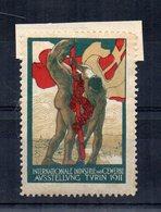Italia - 1911 -  ETICHETTA - ERINNOFILO - Torino - Internationale Industrie Und Cewerbe Ausstellung - (FDC14622) - Erinnophilie