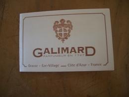 Calendrier Galimard Année 2000* - Cartas Perfumadas