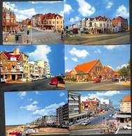 St Idesbald - Lot 6 Cartes Modernes (animation, Oldtimer) - Koksijde