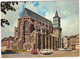 Rouen: PEUGEOT 504, RENAULT 16, FORD P7 TURNIER, CITROËN 2CV, AUSTIN MINI, SIMCA 1000, ARONDE - Temple Saint-Eloi - Toerisme