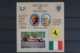 Paraguay, MiNr. Block 322, Postfrisch / MNH - Paraguay